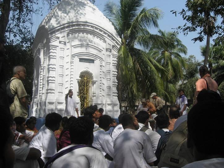 Lugar de nacimiento del Señor Nityananda en Ekacakra.JPG