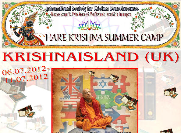 Hare Krishna Summer Camp in Krishnaisland thumbnail