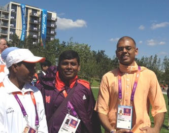Spiritual Support at the London Olympics- – Multi-faith Centre in Athletes' Village thumbnail