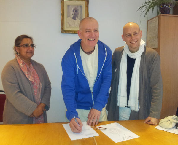 A small step for ISKCON UK, a big step in following Srila Prabhupada's Instructions thumbnail