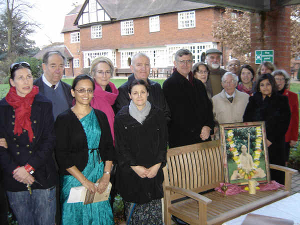 Tamal Krishna Goswami Bench memorial thumbnail