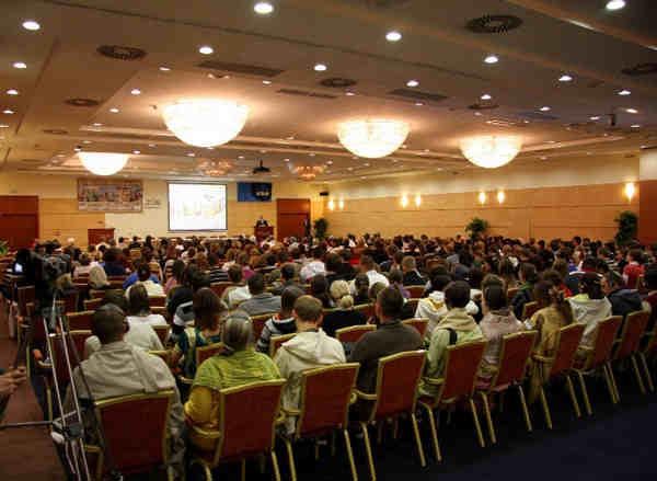 Krishnas organise conference on sustainability