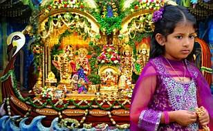 BBC News: Thousands arrive at Janmashtami Festival near Watford thumbnail