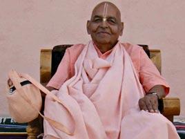 Krishna devotee leaves body