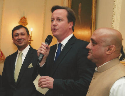 Hare Krishna mantra recited in British Prime Ministers abode- 10 Downing Street thumbnail