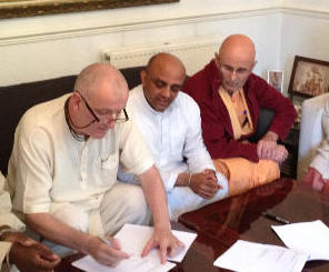 Another small step for ISKCON UK, another big step in following Srila Prabhupada's Instructions thumbnail