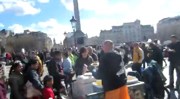 Anti Racism Demo Trafalgar Square London thumbnail