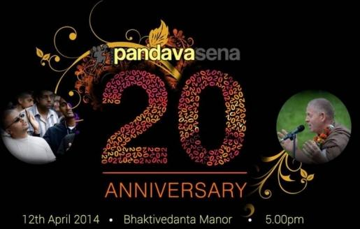 20th Anniversary celebration of Pandava Sena at Bhaktivedanta Manor thumbnail