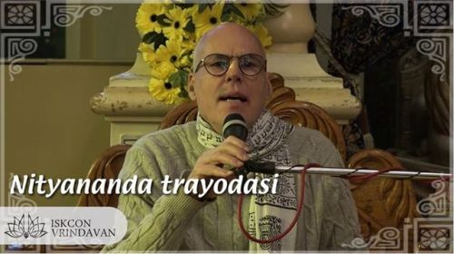 H.G.Rohini Suta Prabhu about Nityananda Trayodasi (video)