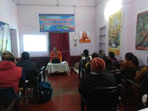 Bhakti Vriksh training program at ISKCON Gaya