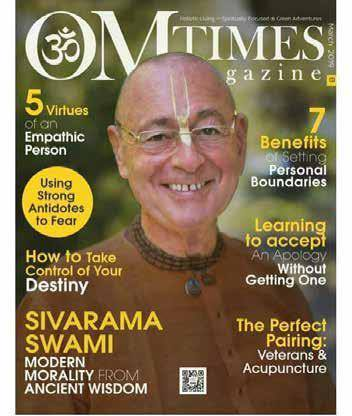 Om Times Magazine. HH Sivarama Swami was the main feature of the...