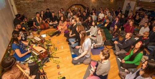 Kirtan London. Kirtan London, a volunteer outreach project...