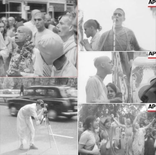 Unseen London Rathayatra clip from 1973 (1 min. video)